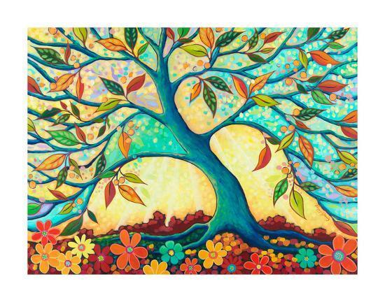 Tree Splendor I-Peggy Davis-Art Print