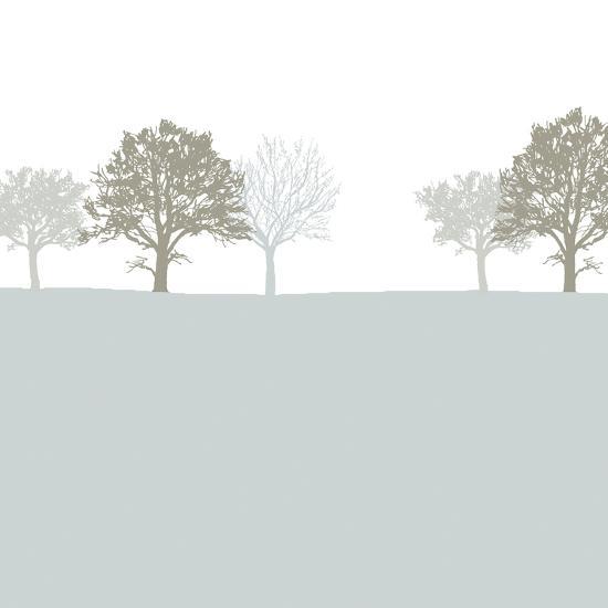 Treeline Blue-Sarah Cheyne-Art Print