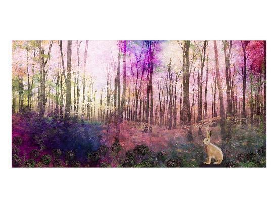 Trees 3-Claire Westwood-Art Print