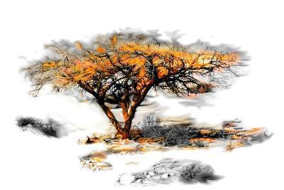 Trees Alive II-Ynon Mabat-Art Print