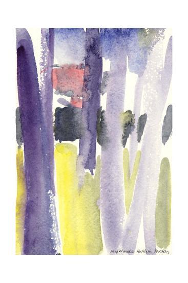 Trees in a Garden, 1997-Claudia Hutchins-Puechavy-Giclee Print