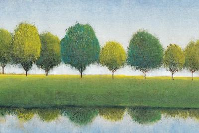 Trees in a Line I-Tim OToole-Art Print