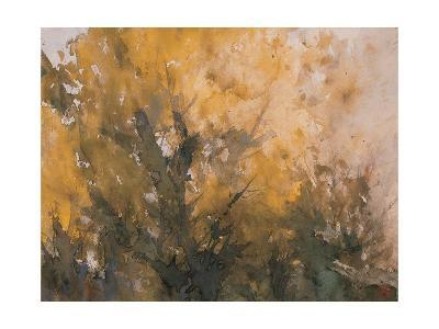 Trees in Autumn-Wanqi Zhang-Giclee Print