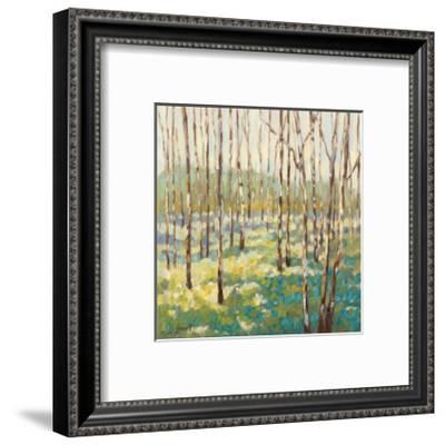 Trees in Blue Green-Libby Smart-Framed Giclee Print
