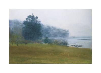 Trees in Fog and Mist-Kurt Solmssen-Giclee Print