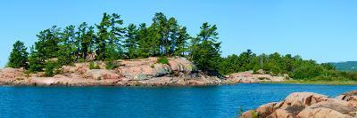 Trees on an Island, Red Island, Killarney, Ontario, Canada--Photographic Print
