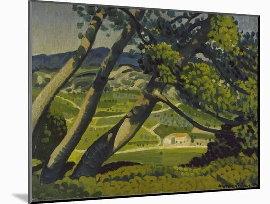 Trees, Provence, 1912-Derwent Lees-Mounted Giclee Print