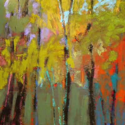 Trees Three-Jane Schmidt-Art Print