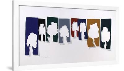 Trees-Menashe Kadishman-Framed Limited Edition
