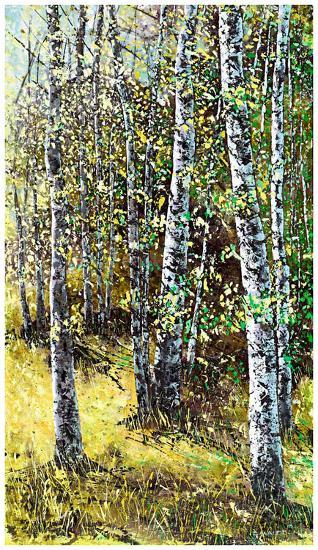 Treescape 6-Carole Malcolm-Art Print