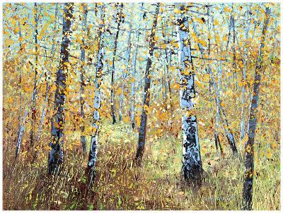 Treescape 7-Carole Malcolm-Art Print