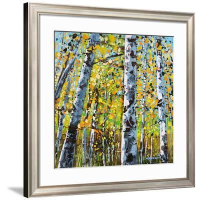 Treescape 8-Carole Malcolm-Framed Art Print