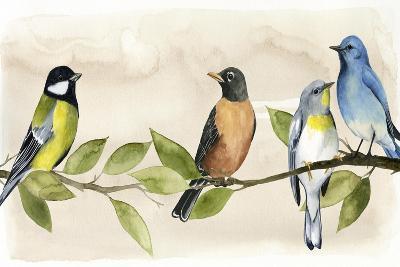Treetop Gathering I-Grace Popp-Art Print