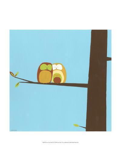 Treetop Owls IV-Erica J^ Vess-Art Print
