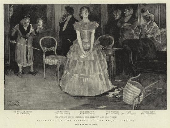 Trelawyn of the 'Wells' at the Court Theatre-Frank Craig-Giclee Print