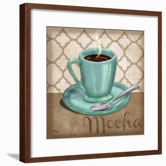 Trellis Cafe I-Paul Brent-Framed Art Print