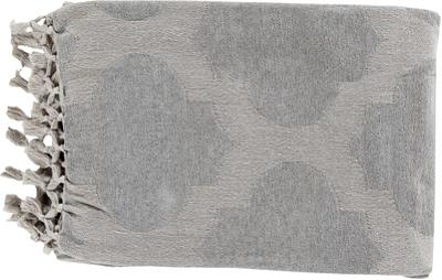 Trellis Throw - Ash/Light Gray *