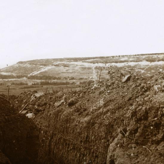Trenches, c1914-c1918-Unknown-Photographic Print