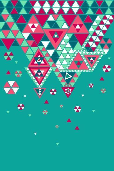 Trendy Geometric Elements-cienpies-Art Print