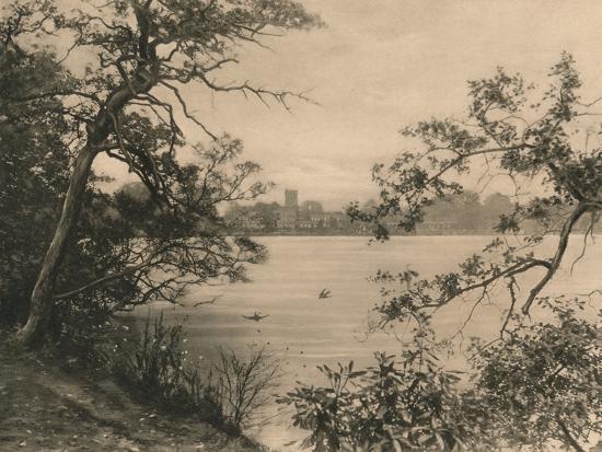 'Trentham Hall', 1902-Unknown-Photographic Print