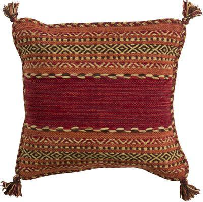 Trenza Poly Fill Pillow - Rust