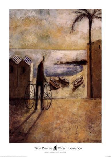 Tres Barcas-Didier Lourenco-Art Print