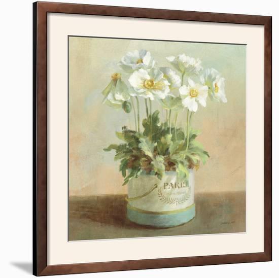 Tres Chic Poppies-Danhui Nai-Framed Photographic Print