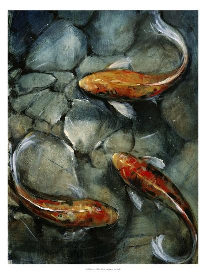 Tres Koi I-Tim O'toole-Art Print