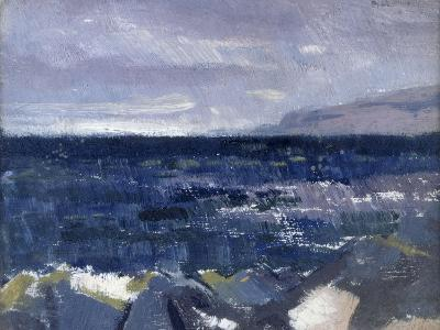Treshnish Point from Iona-Francis Campbell Cadell-Giclee Print