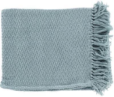 Tressa Throw - Light Teal
