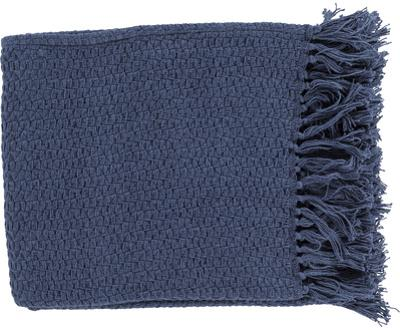 Tressa Throw - Navy