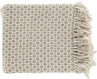 Trestle Throw - Beige/Ivory *