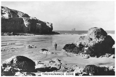 Trevaunance Cove, Cornwall Coast, 1937--Giclee Print