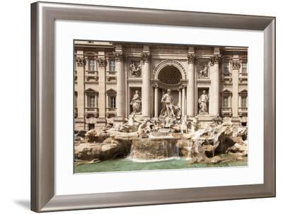 Trevi Fountain, Rome, Lazio, Italy, Europe-Simon Montgomery-Framed Photographic Print