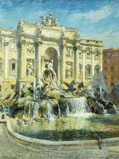 Trevi Fountain, Rome-Colin Campbell Cooper-Giclee Print