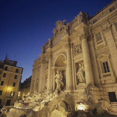 Trevi Fountain-Nicola & Giuseppe Nicola & Pannini-Photo