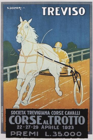 Treviso Horse Racing--Giclee Print