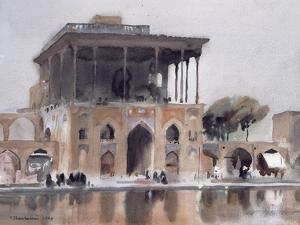Ali Qapu Palace, Isfahan, 1994 by Trevor Chamberlain