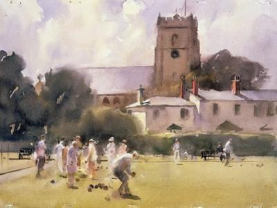 Bowls Match, Sidmouth by Trevor Chamberlain