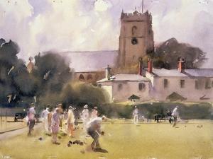 Bowls Match, Sidmouth by Trevor Chamberlain
