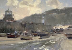 Harbour Light, St. Ives by Trevor Chamberlain