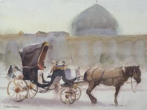 Horse and Carriage, Naghshe Jahan Square, Isfahan by Trevor Chamberlain