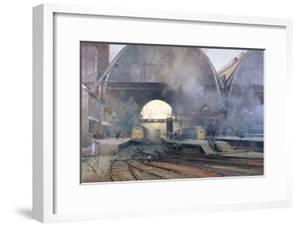 King's Cross Station by Trevor Chamberlain