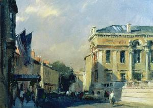 Morning, Ashmolean Museum, 1984 by Trevor Chamberlain