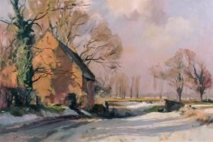 Norfolk Thaw, 1985 by Trevor Chamberlain