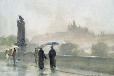 Umbrellas, Charles Bridge, Prague