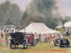 Vintage Motor Rally, 1991 by Trevor Chamberlain