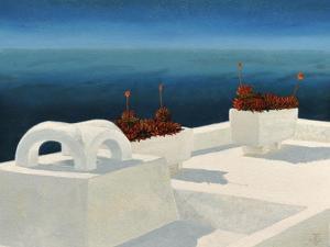 Santorini 5, 2010 by Trevor Neal