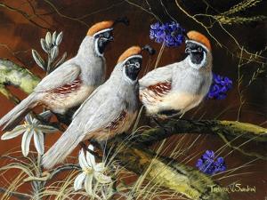 Among Spring Blooms by Trevor V. Swanson