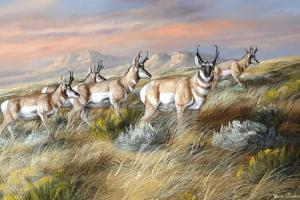 Cool Evening Strollers by Trevor V. Swanson